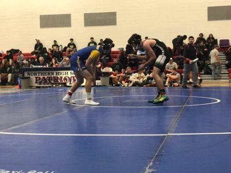 Calvert Wrestling Competes in Patriot Classic