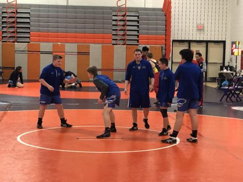 Calvert JV Wrestles at McDonough Invitational