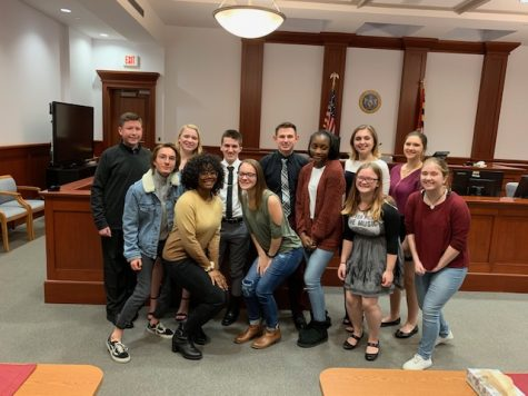 CHS Mock Trial team advances to round 2 of regionals