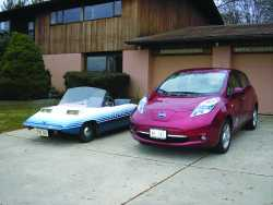 Driving Electric in Calvert County, Following My Grandpa's Legacy